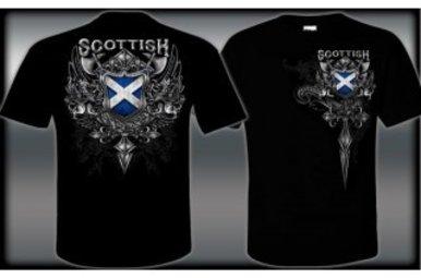 T Shirt: Scottish Shield