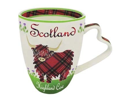 Clara Mug: Scottish Highland Cow