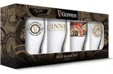 Glass: Irish Pub Glasses, Set of 4
