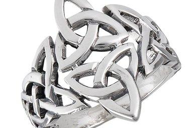 Ring: SS Celtic Triquetras