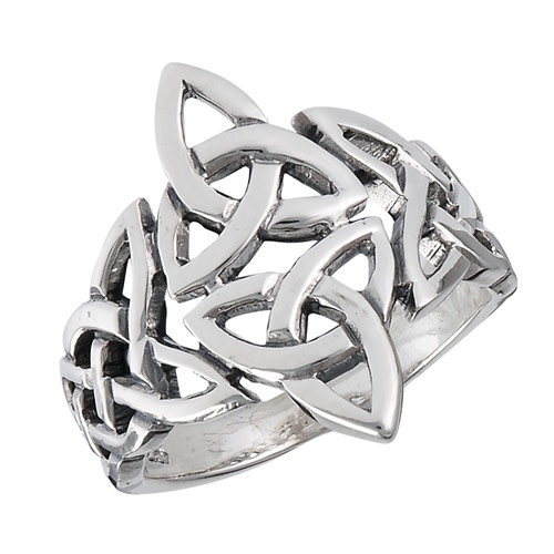 Ring: SS Celtic Triquetras