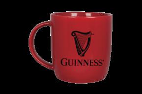 Mug: Guinness Harp, Red