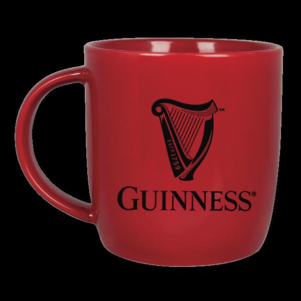 Guinness Mug: Guinness Harp, Red