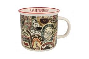 Mug: Guinness Labels