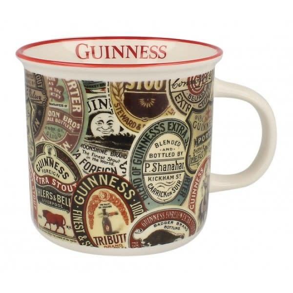 Guinness Mug: Guinness Labels