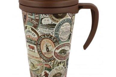 Guinness: Travel Mug, Labels