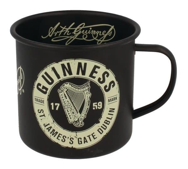 Guinness Guinness: Enamel Mug, Black