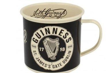 Guinness: Enamel Mug, Cream