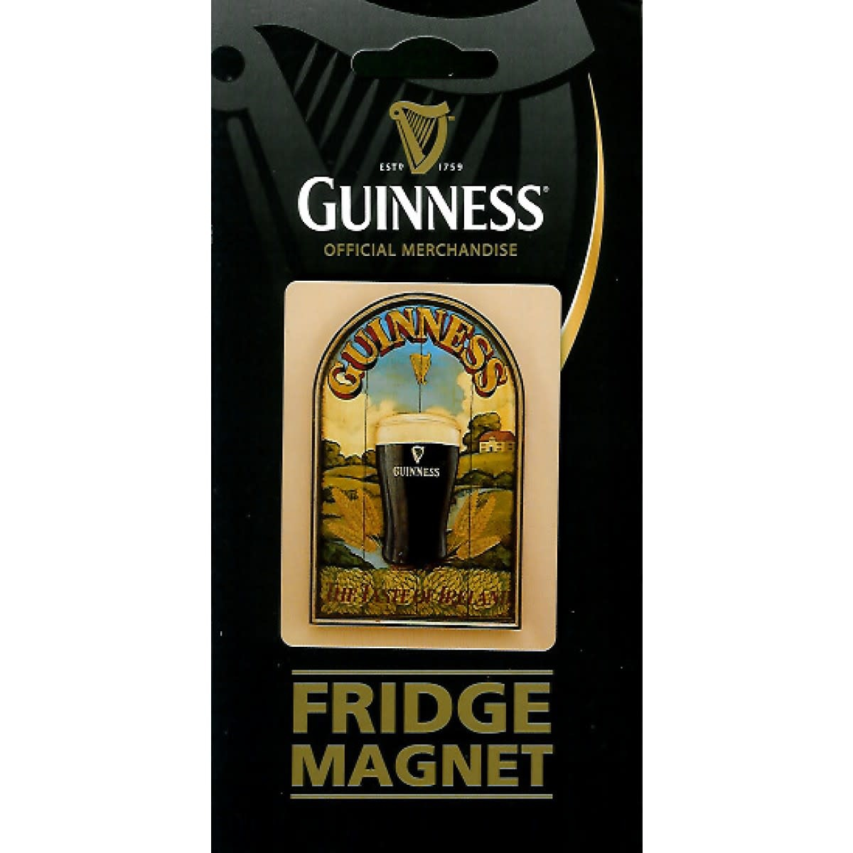 Guinness Guinness: Fridge Magnet, Pint