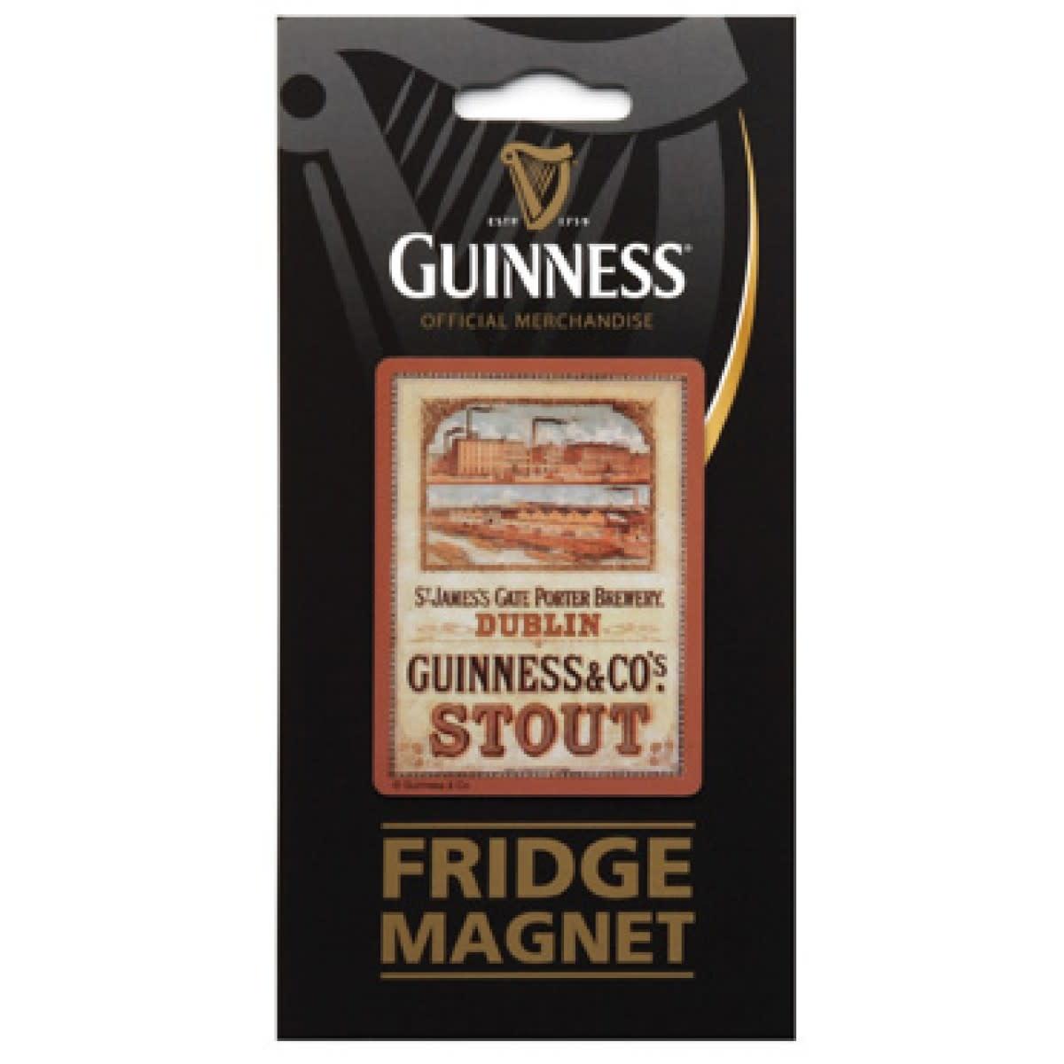 Guinness Guinness: Fridge Magnet, Brewery