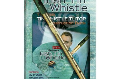 Whistle: Irish Tin w/Book+DVD