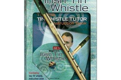 Whistle: Irish Tin w/Book+DVD