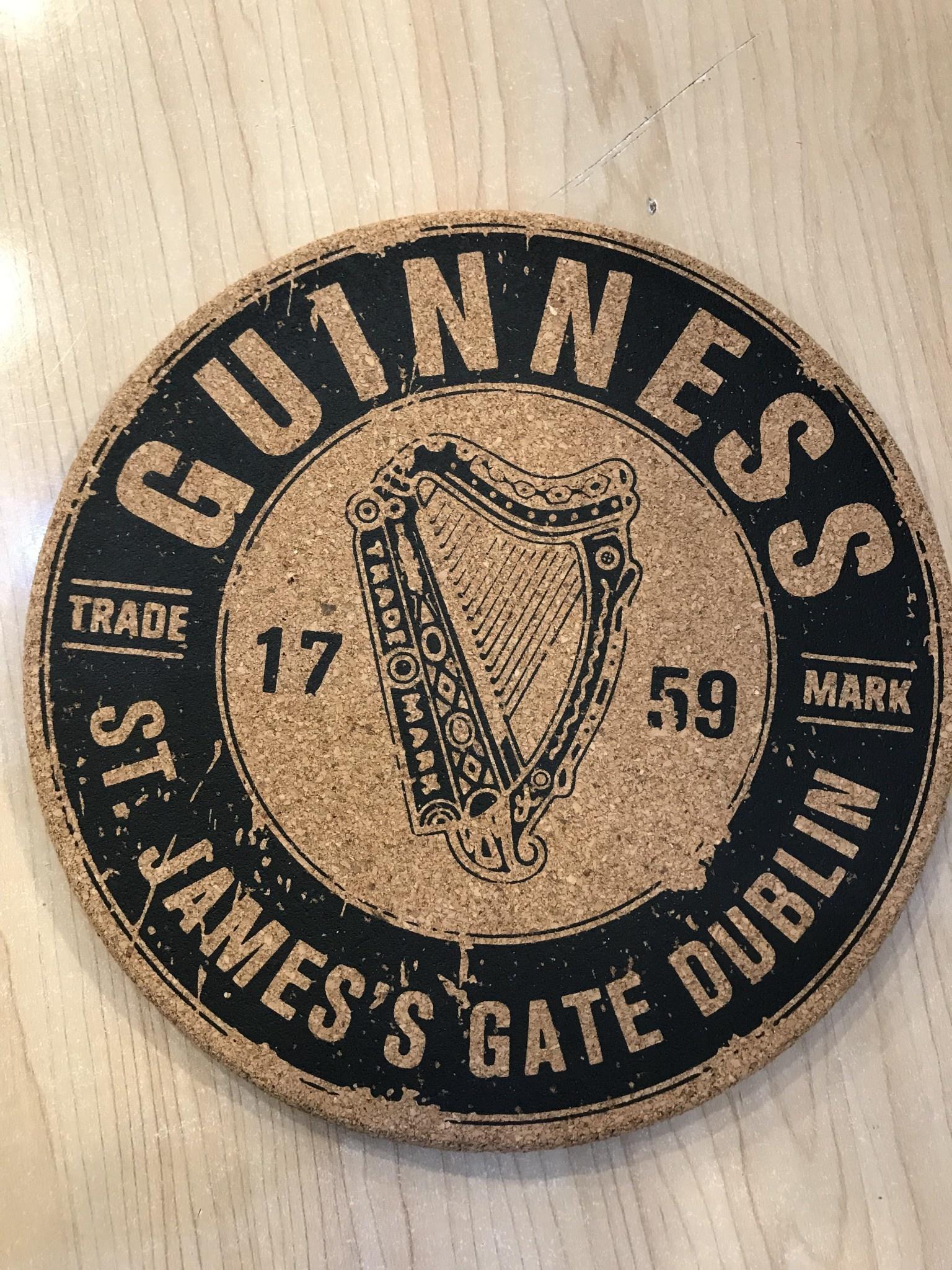 Guinness Trivet: Guinness Cork