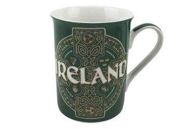 Mug: Celtic Circle Green