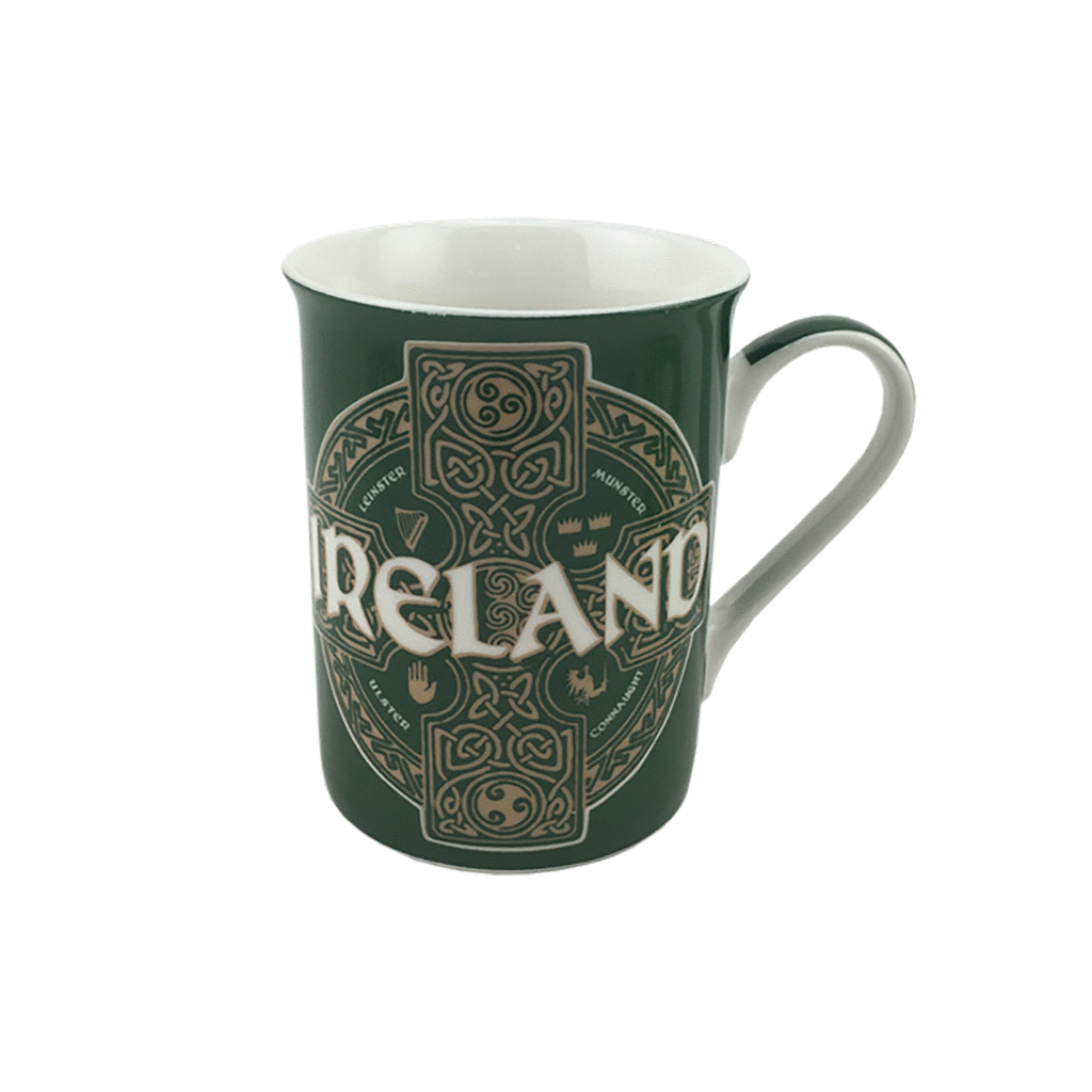Mug: Celtic Circle Green