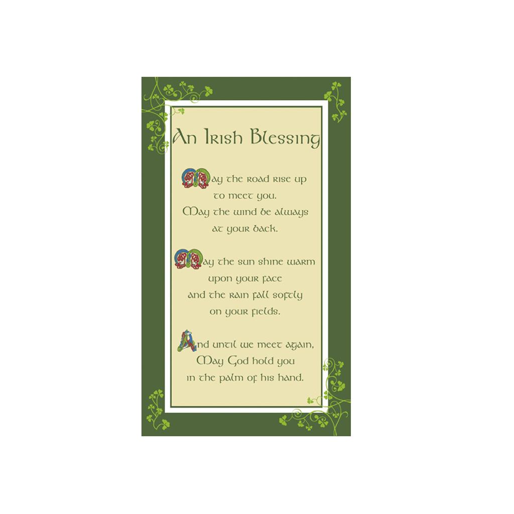 Tea Towel: Irish Blessing