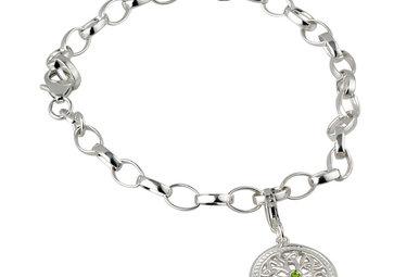 Bracelet: SS Tree of Life Dangle