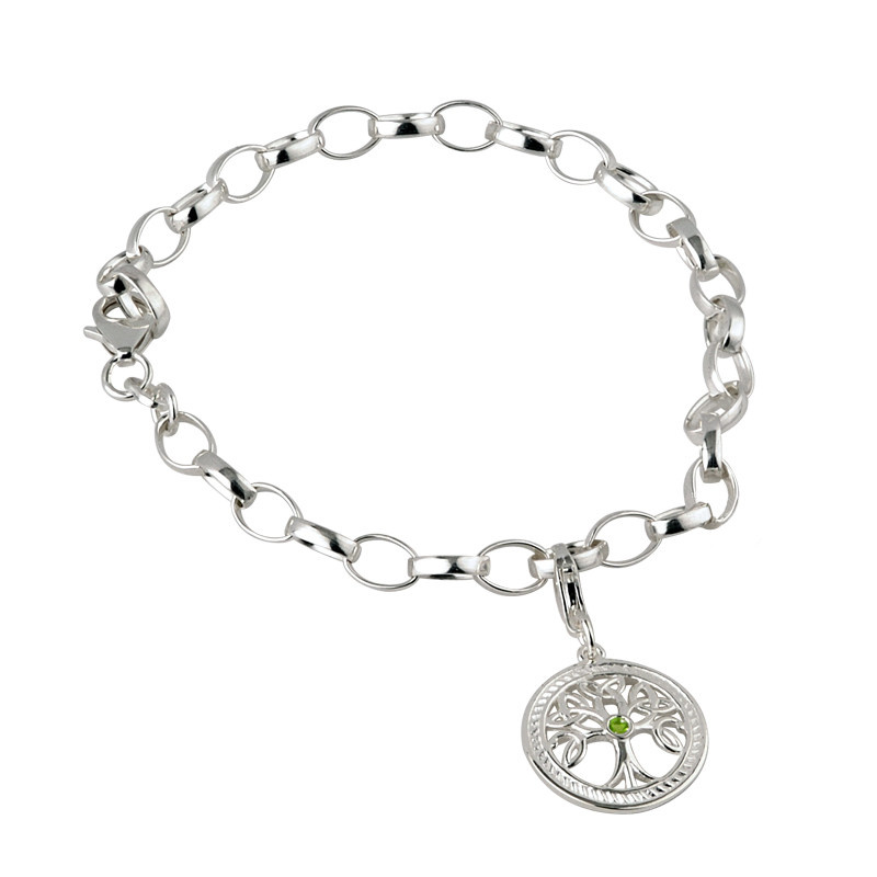 Bracelet: SS Tree of Life Dangle