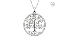 Necklace: SS Swarovski Tree of Life