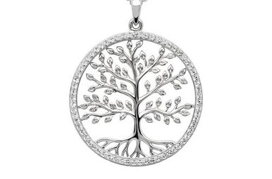 Necklace: SS Swarovski Tree of Life