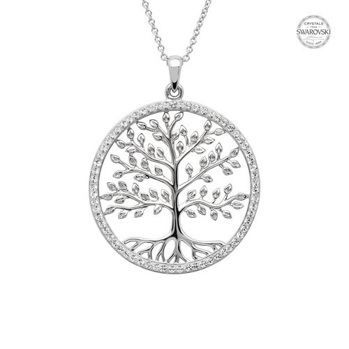 Shanore Necklace: SS Swarovski Tree of Life