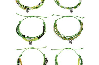 Bracelet: Lucky Shamrock