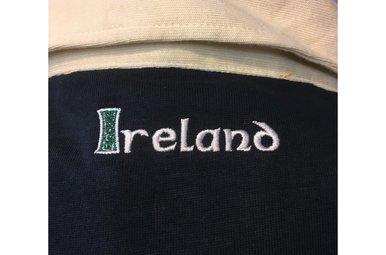 Shirt: Retro Irish Rugby, Navy