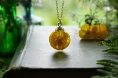 "Necklace: SS 24"" Buttercup"