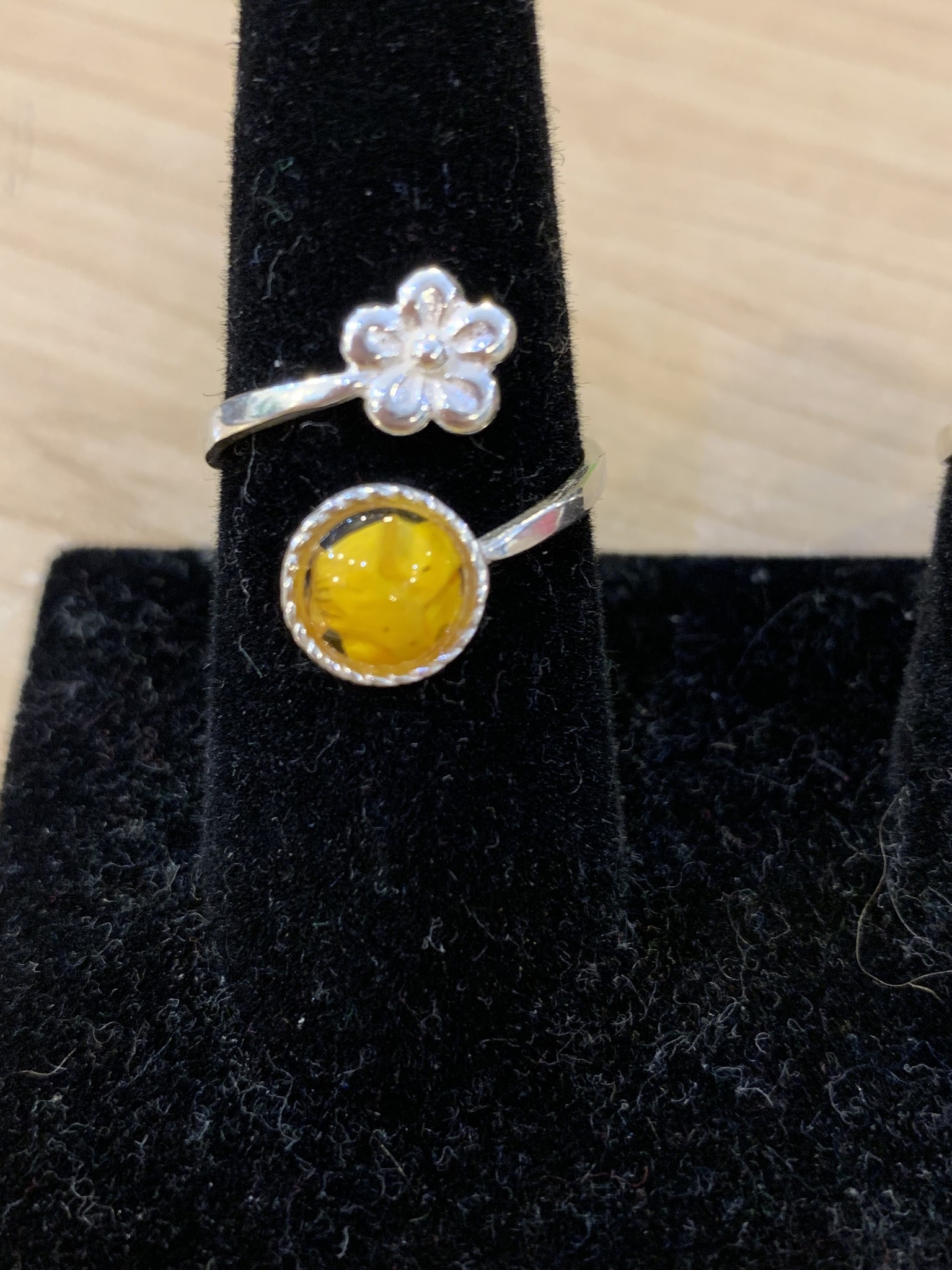 Ring: SS Adjustable Buttercup