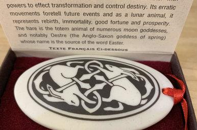 Ornament: Porcelain, Hare