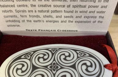 Ornament: Porcelain, Spirals
