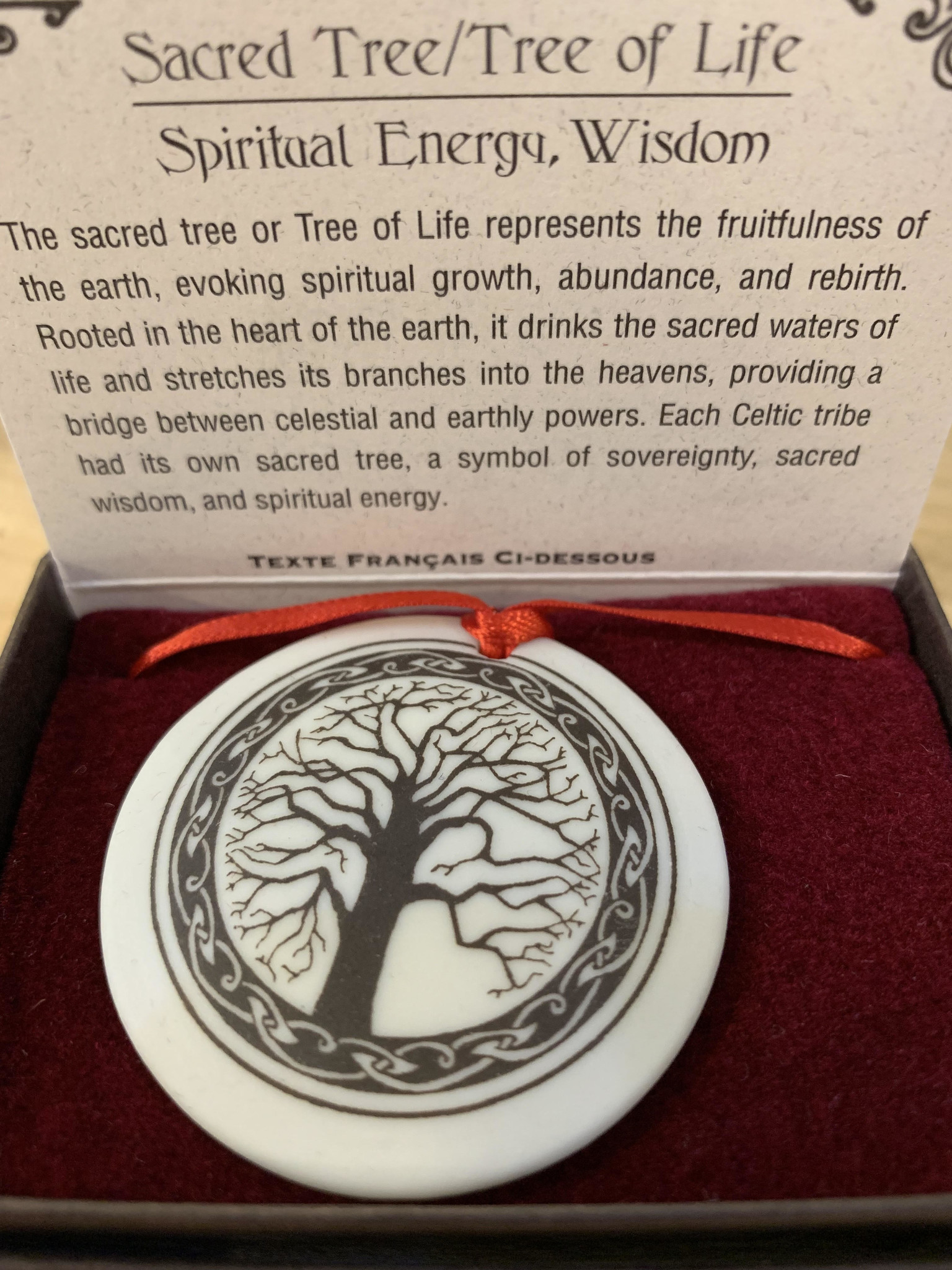 Ornament: Porcelain, Tree of Life