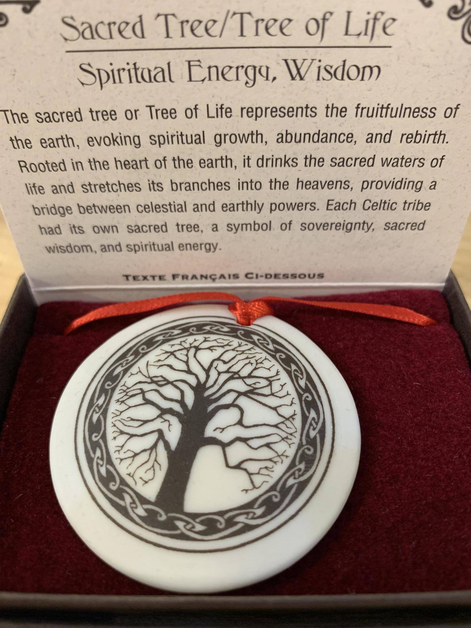 Ornament: Porcelain, Tree of Life