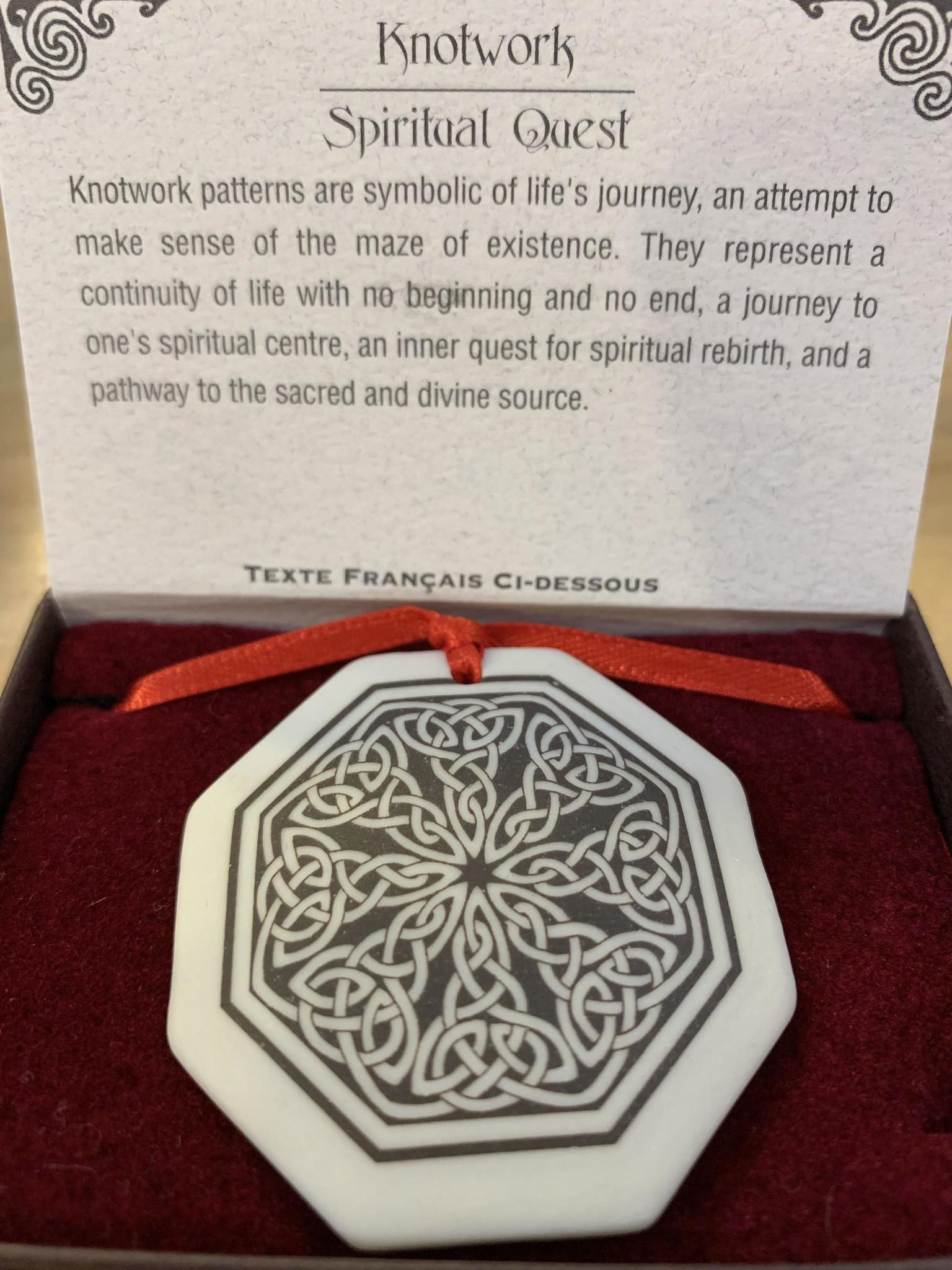 Ornament: Porcelain, Knotwork