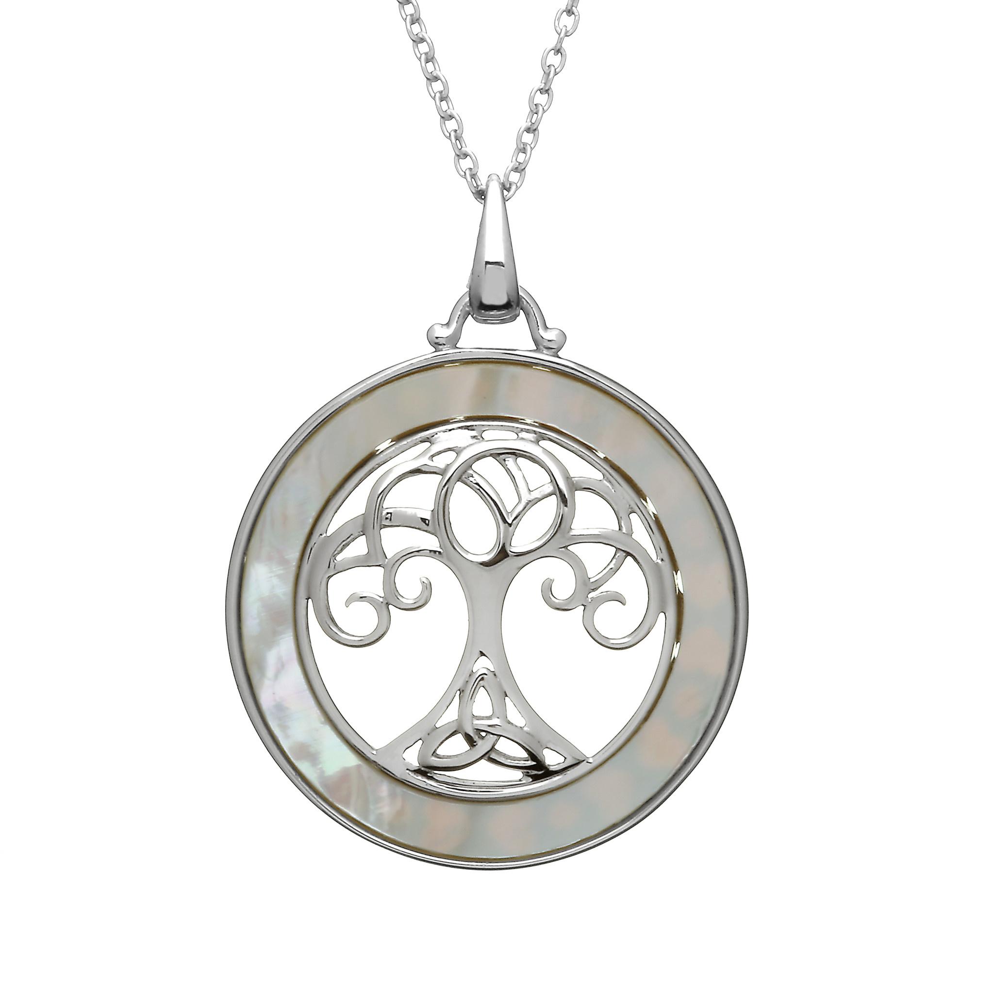 Anu Pendant: SS Tree of LIife
