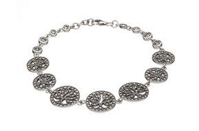 Bracelet: SS Marcasite Tree of Life