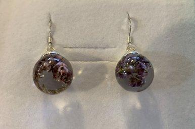 Earrings: SS Heather Drop