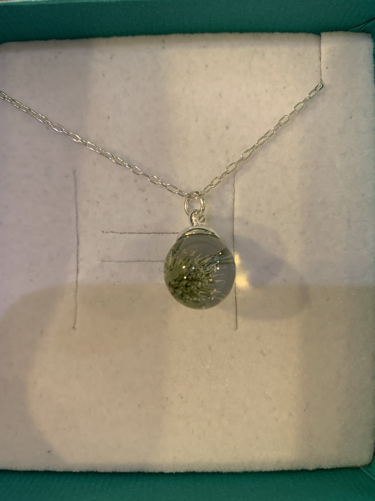 Necklace: SS Thistle