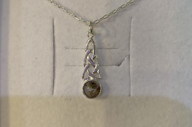 Necklace: SS Celtic Heather