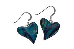Earring: Heathergems Modern Heart
