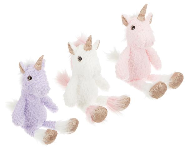 "Toy: Glitter Unicorn 15"", Scottish"