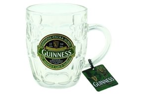 Glass: Guinness Dimpled Tankard