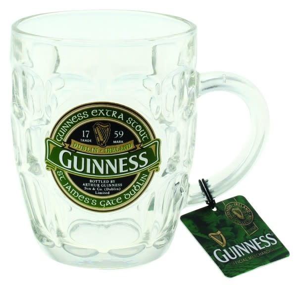 Guinness Glass: Guinness Dimpled Tankard