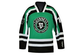 Guinness: Green Hockey Shirt