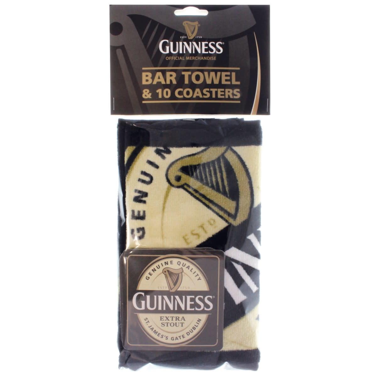 Guinness Guinness: Bar Towel & Coaster Pack