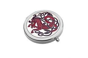 Mirror: Compact, Celtic Horse