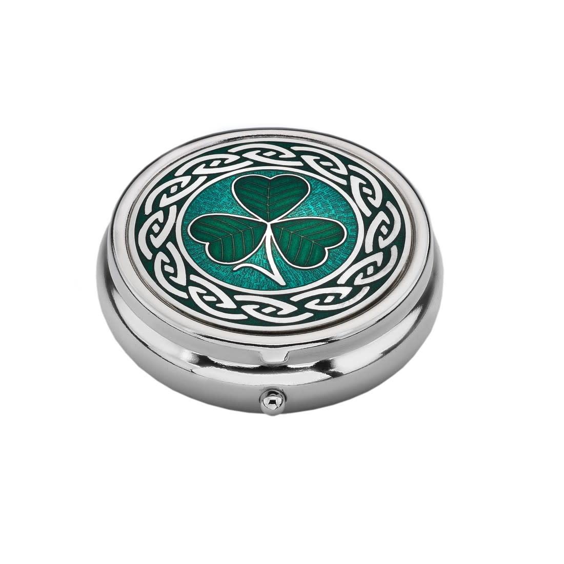 Pill Box: Celtic Shamrock