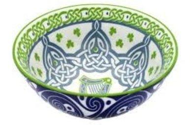 Bowl: Irish Harp
