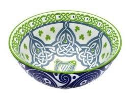 Clara Bowl: Irish Harp