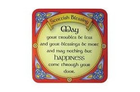 Coaster: Scottish Blessing